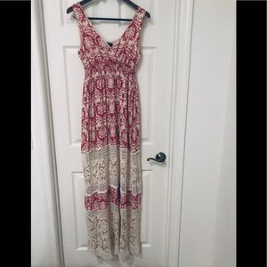 Anthropologie Sunday in Brooklyn crochet maxi